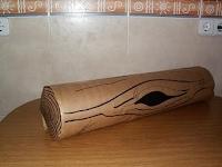 Como hacer un tronco de rbol aventurasencasa - Como hacer un arbol de papel grande ...